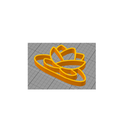 Small Lotus Flower 3D Printing 207057