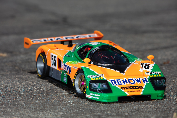 Mazda 787B 3d Printed RC Car 3D Print 207070