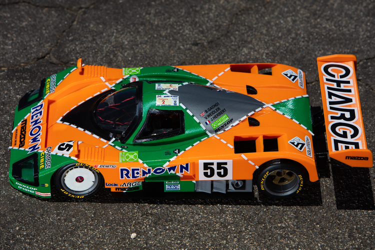 Mazda 787B 3d Printed RC Car 3D Print 207085