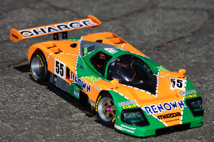 Mazda 787B 3d Printed RC Car 3D Print 207087