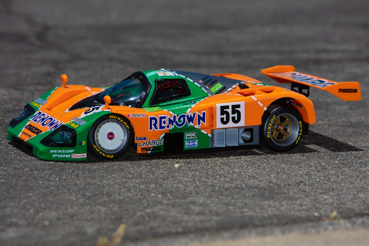 Mazda 787B 3d Printed RC Car 3D Print 207088