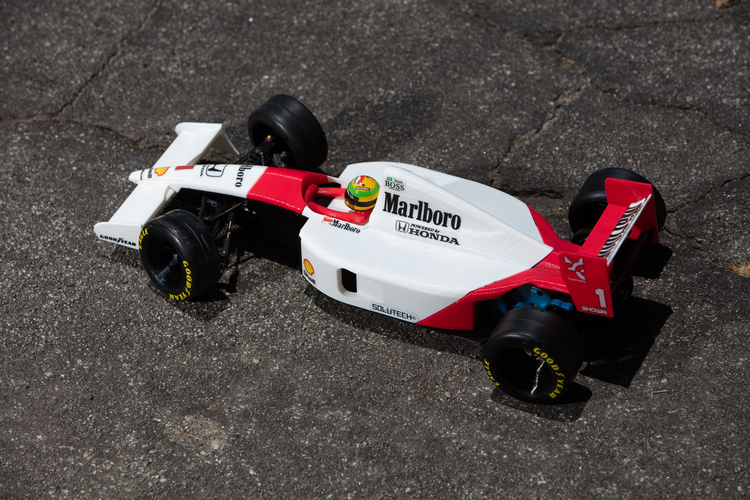 Aryton Senna's Mclaren MP4/6 3d Printed RC Car 3D Print 207090