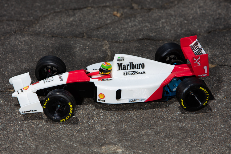 Aryton Senna's Mclaren MP4/6 3d Printed RC Car 3D Print 207091