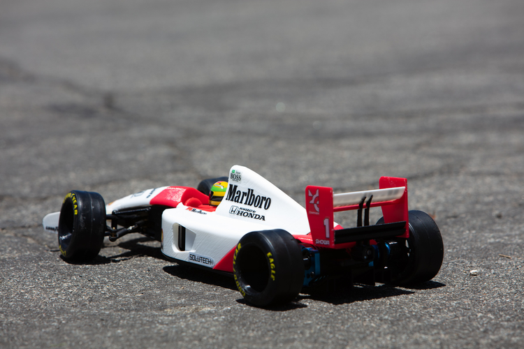 Aryton Senna's Mclaren MP4/6 3d Printed RC Car 3D Print 207093