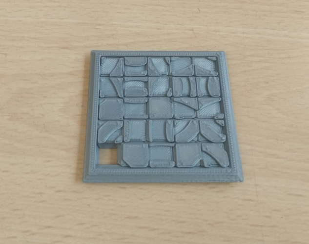 Two Sided Sliding Puzzle 3D Print 207137