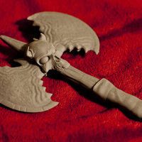 Small Battle Axe Sculpture / Prop 3D Printing 207203