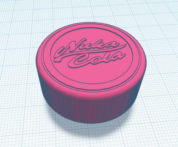Nuka Cola Threat screw  3D Print 207231