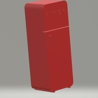 Small fridge 3D Printing 207244