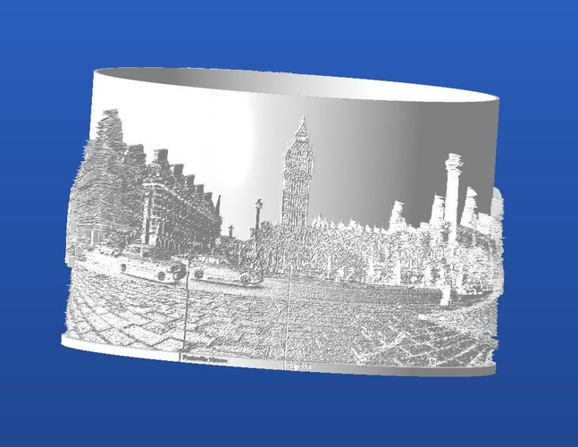 Curved Lithophanes 3D Print 20730