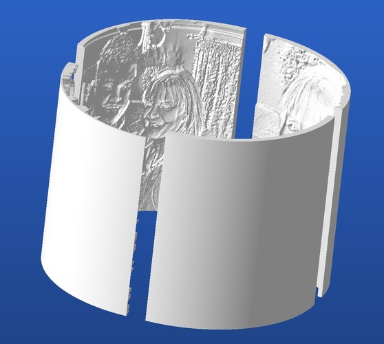 Curved Lithophanes 3D Print 20731