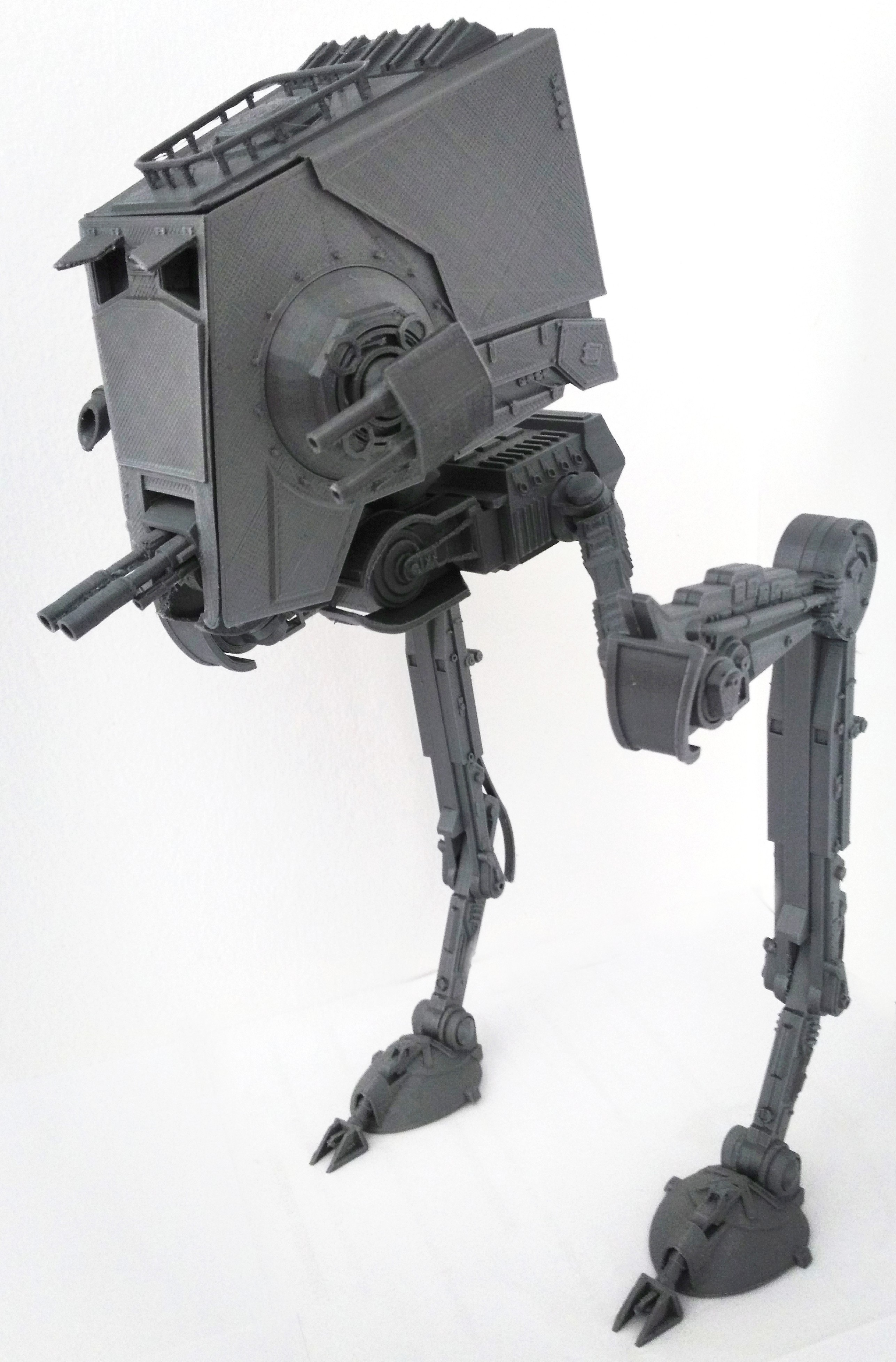 Star Wars ATST Walker - Ready to print - With instructions @ Pinshape