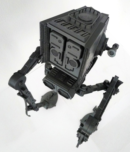 3d Printed Star Wars Atst Walker Ready To Print With