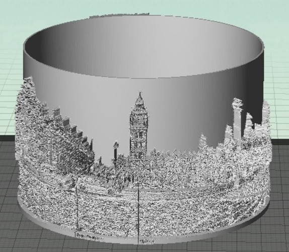 Curved Lithophanes 3D Print 20737