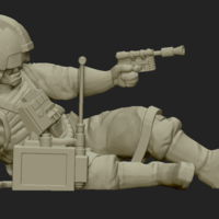 Small Insurgent objective downed pilot 3D Printing 207406