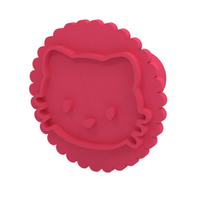 Small Cookie stamp 3D Printing 207441