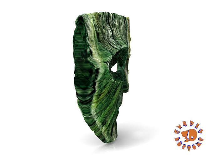 "Jim Carrey's -  Loki Mask from the movie ""The Mask"" 3D Print 207461"