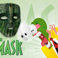 "Small Jim Carrey's -  Loki Mask from the movie ""The Mask"" 3D Printing 207500"