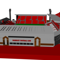 Small Barnsley - Oakwell 3D Printing 207503