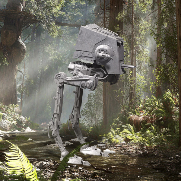 Medium Star Wars ATST Walker - Ready to print - With instructions 3D Printing 207519