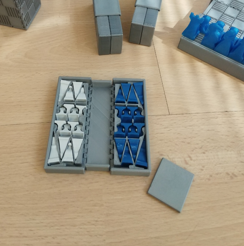 Pocket Chess Set 3D Print 207535
