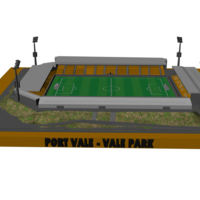 Small Port Vale - Vale Park 3D Printing 207674