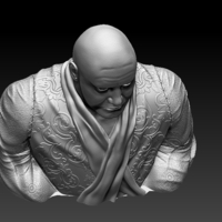 Small Lord Varys Bust 3D Printing 207818