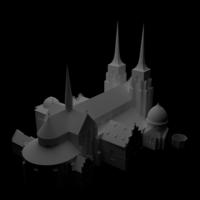 Small Roskilde Domkirke 3D Printing 207841