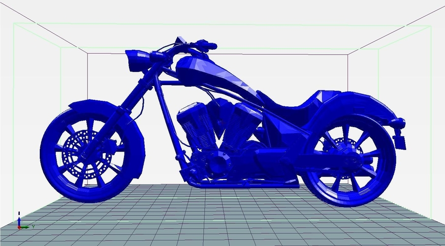 Motorcycle (High Quality) 3D Print 207871