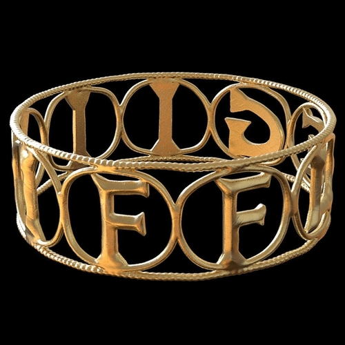 Replica of the Roman Legion Flavia Felix Ring 3D Print 207921