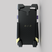 Small Phone case with kick stand and wallet i-phone 6 3D Printing 207964