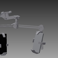 Small Automotive dual camera/phone stands.   3D Printing 207985