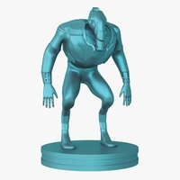 Small Mutant miniature 3D Printing 207989