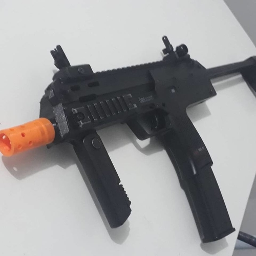 Airsoft Mp7 electric Front End (front part of mp7) 3D Print 207995