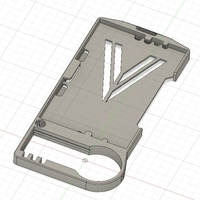Small Improved Badge and RSA Holder 3D Printing 208004