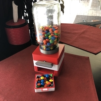 Small Easy Print No Support Modular Candy Dispenser 3D Printing 208171
