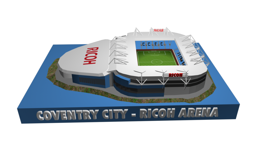 Coventry City - Ricoh Arena 3D Print 208186