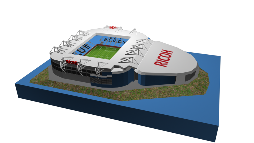 Coventry City - Ricoh Arena 3D Print 208187