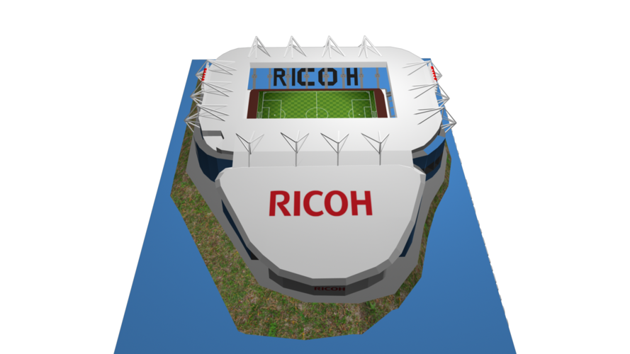 Coventry City - Ricoh Arena 3D Print 208188