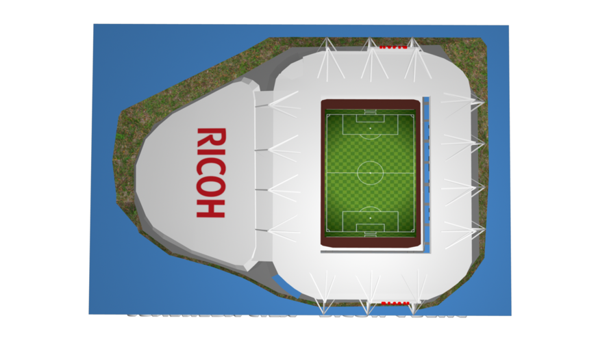 Coventry City - Ricoh Arena 3D Print 208190