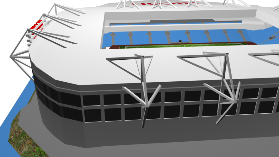 Coventry City - Ricoh Arena 3D Print 208191