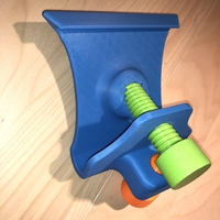 Small Adjustable IPAD / IPHONE stand 3D Printing 208400
