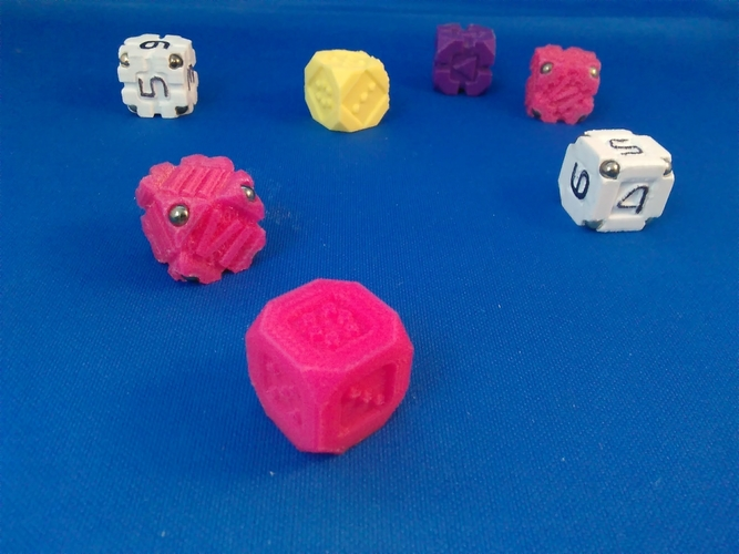 EarthDice Variation 1 - Prototype 3D Print 208409
