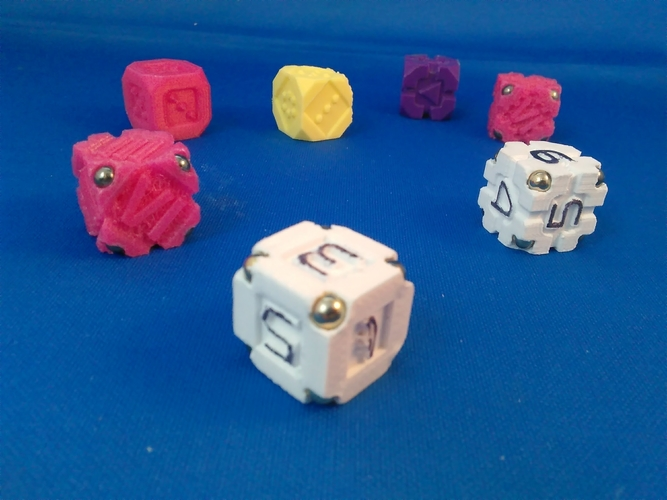 EarthDice Variation 1 - Prototype 3D Print 208410