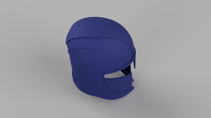 Star Wars The Clone Wars Senate Commando Helmet and Shoulder 3D Print 208423