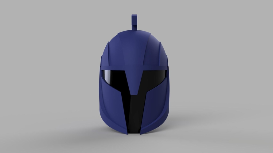 Star Wars The Clone Wars Senate Commando Helmet and Shoulder 3D Print 208431