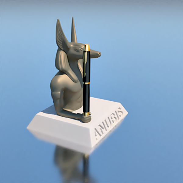 Medium pen holder, ANUBIS 3D Printing 208536
