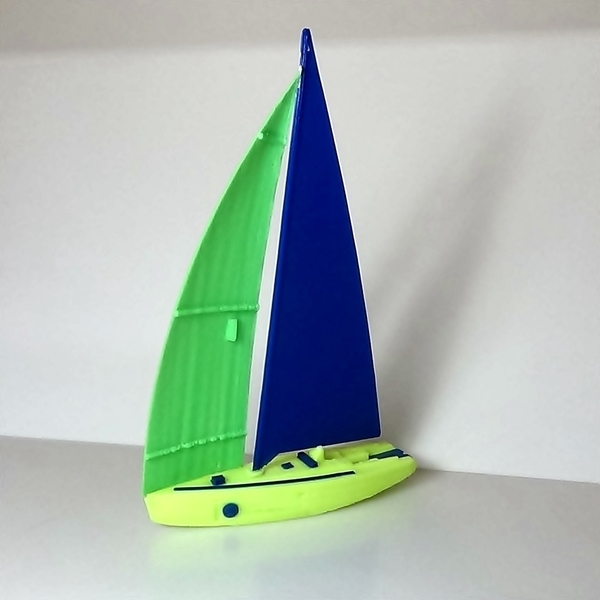 Medium sailboat 3D Printing 208582