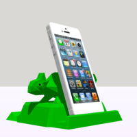 Small Phone holder, Tablet support 3D Printing 208653