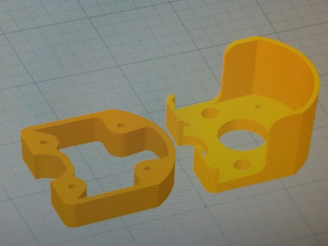 Engine mounts  Minimag Multiplex  3D Print 208687
