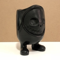 Small Monster Pot/Vase 3D Printing 208702